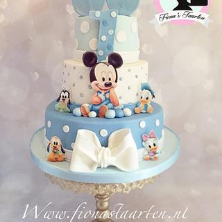 1st birthday baby Mickey mouse