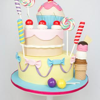 Sweets & Candy cake