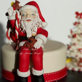 Christmas Cake - Cake by Cake Angel by Marisa Kemp