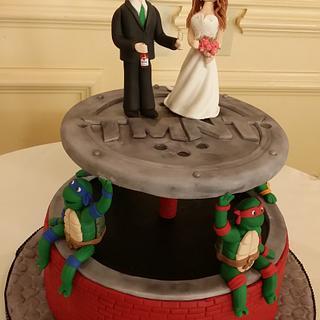 Alexander/Marcantuono Groom's  Cake
