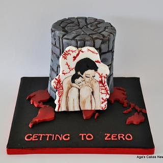 #BeTeamRed #UNSA - Cake by Agnieszka