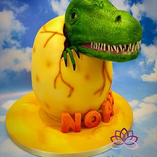 Dino Egg cake