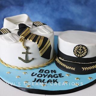 Bon Voyage  - Cake by Urvi Zaveri