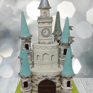 Princess Castle - Cake by FunnyLand Cakes