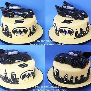 Batmobile cake number 2
