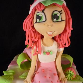 Strawberry Shortcake - Cake by WithCherriesOnTop