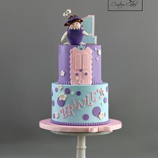 Tremendous Cakes Tagged Monsters Inc Cakesdecor Personalised Birthday Cards Epsylily Jamesorg