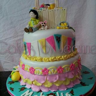 Lemonade Stand (inspired from other cake)
