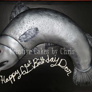 Fish Cake - Cake by Creative Cakes by Chris