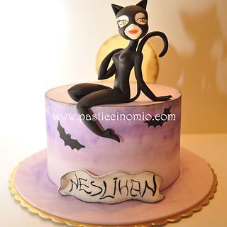 Catwoman Cake