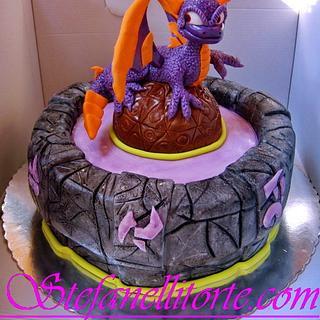 SPYRO SKYLANDER CAKE