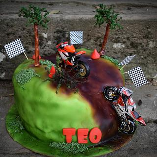 Motorcycle Lover Cake