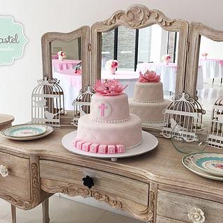 Torta Bautizo - Baptism Cake
