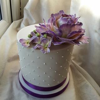 Purple Peony Wedding Order