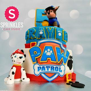 Paw patrol - Cake by Sprinkles Cake Studio