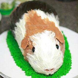 Guinea Pig Buttercream Cake - Cake by 6 Bittersweets (Xiaolu)