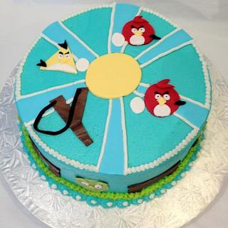 Angry Birds 2D - Cake by Dawn Henderson