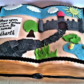 A cake with a story to tell :)
