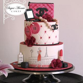 Turning 18 with style - Cake by Sugar Avenue Cakes