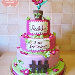 Cake Flower - Cake by Fatto di Zucchero