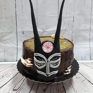 Cake Maschera Boes nero
