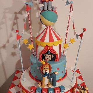 Circus - Cake by silviacucinelli
