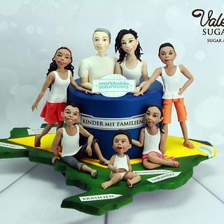 Help with Cake Collaboration - Brasil Children with Families