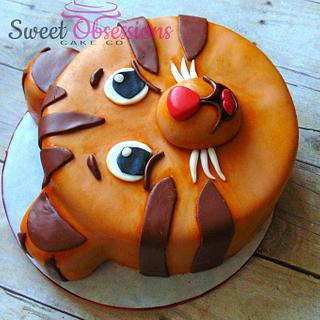 Daniel Tiger - Cake by Sweet Obsessions Cake Co