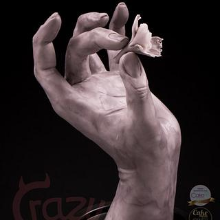 Hand made in modeling chocolate (inspiration by philippe faraut)