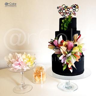 Love's rainbow  - Cake by maria antonietta motta - arcake -