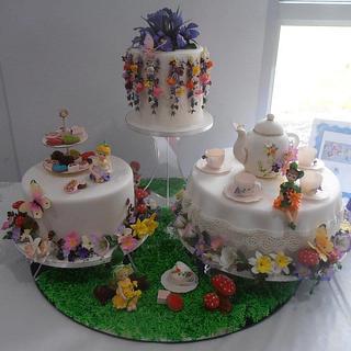 Collaboration cake by Carole Dawson's students.