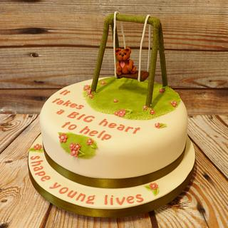 Thankyou Cake for a Childminder - Cake by Extra Mile Icing