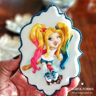 Little Harley Quinn.....