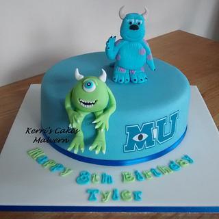 Monsters University - Cake by Kerri's Cakes