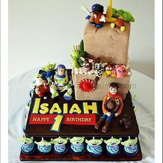 Toy Story 3 Cake - Cake by Bobie MT