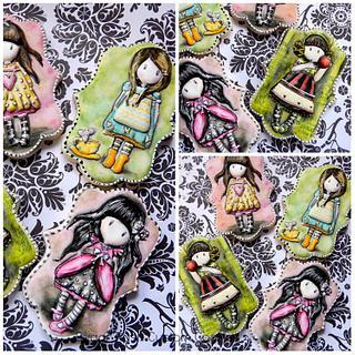 Santoro London Gorguss doll cookies