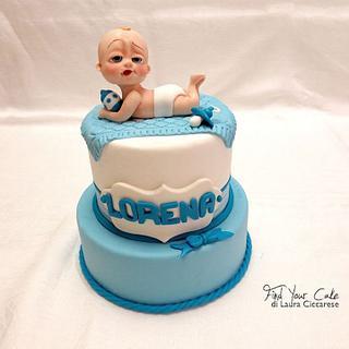 Baby Boss cake topper