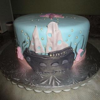 Jimmy's beach birthday cake