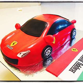 3D Ferrari Cake - Cake by PADMA V