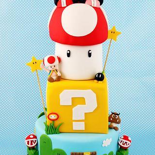 Super Mario Kart Wedding Cake - Cake by Little Cherry
