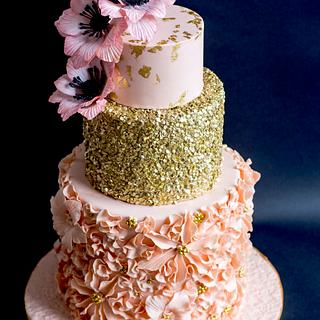 Pearl wedding anniversary - Cake by Delice