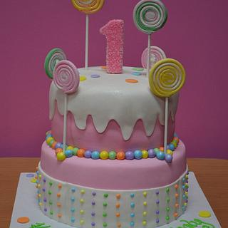 Candyland Cake - Cake by Karen Hearty
