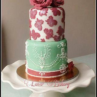 English cottage cake
