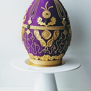 Easter Fabergè Egg Cake :)
