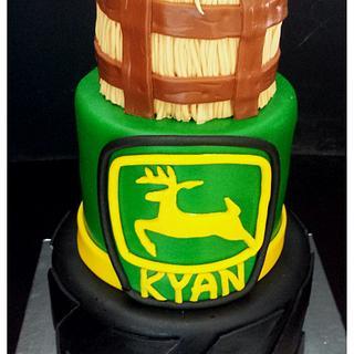 John Deere Boys Birthday Cake
