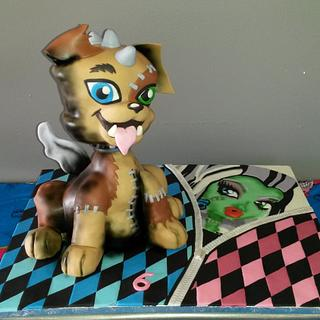 Animated Monster High Cake