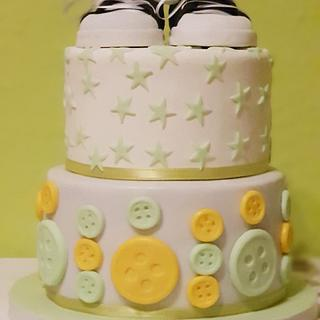Welcome Baby Allstars Cake