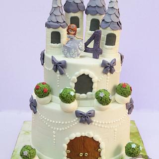 My first castle cake!!! :)