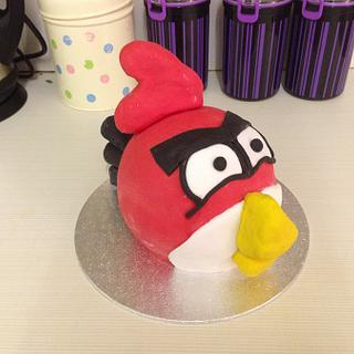 Angry Bird 3D Cake - Cake by Cupcake Cottage - Rachel