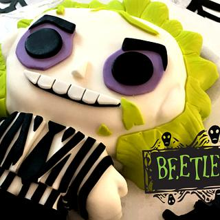BEETLEJUICE CAKE! - Cake by Miss Trendy Treats